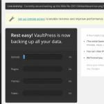 Sova WPのWordPressをVaultPressでバックアップする方法